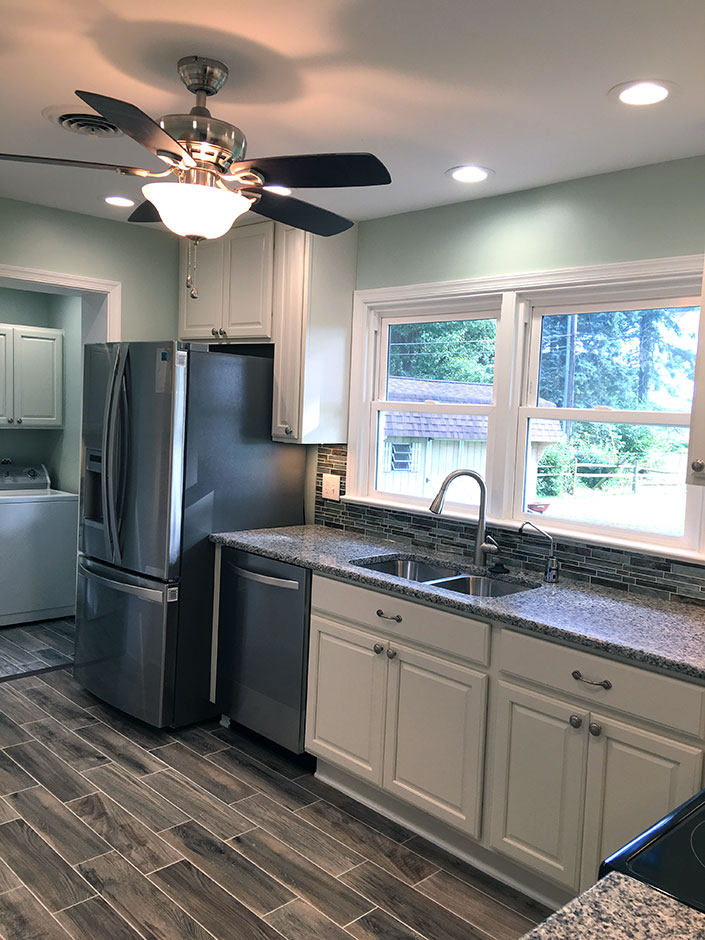 Kitchen & Laundry Room Remodel